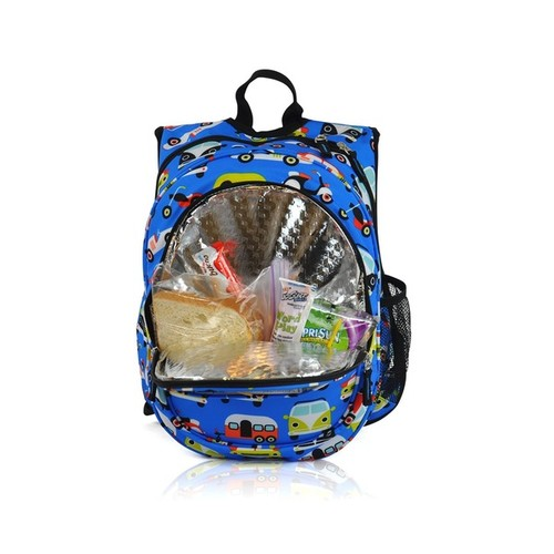 Obersee Kids Transportation Pre-School All-In-One Backpack With Cooler