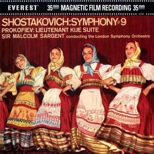 Shostakovich: Symphony No. 9; Prokofiev: Lieutenant Kije Suite [CD]