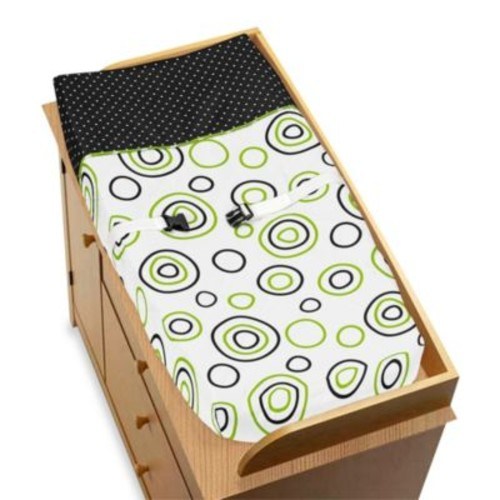 Sweet Jojo Designs Spirodot Changing Pad Cover