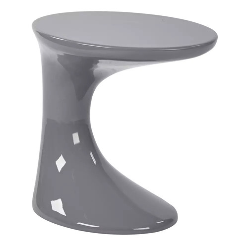 Ave Six 17'' Slick End Table