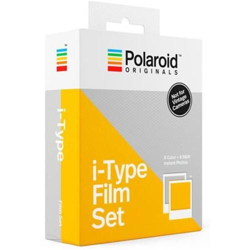 Polaroid Originals i-Type Color and Black/White Instant Film Set, 2 Pack