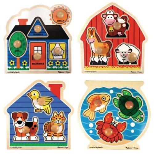 Melissa & Doug Puzzle Set, Jumbo Knob