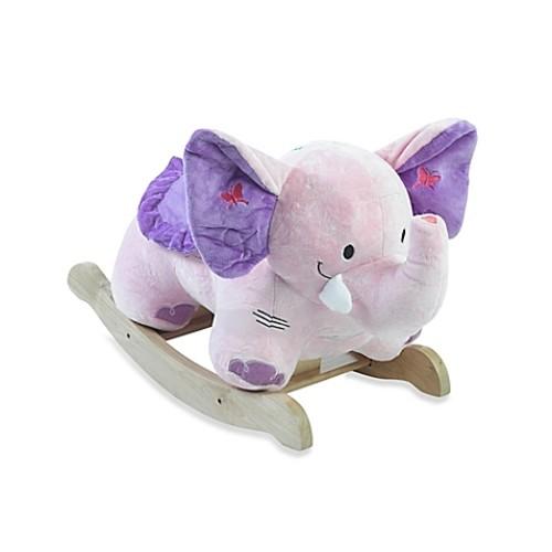 Rockabye Bella Elephant Musical Rocker