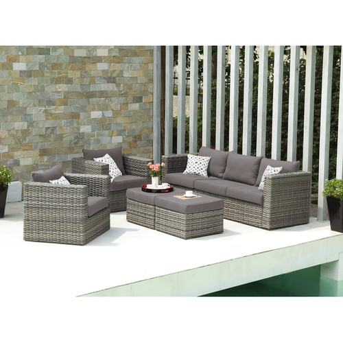 Upton Home Sofas, Chairs & Sectionals Upton Home Outdoor Wicker 5pc Set