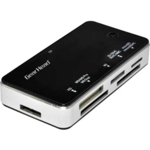 Gear Head 58-in-1 USB 3.0 All In One Card Reader