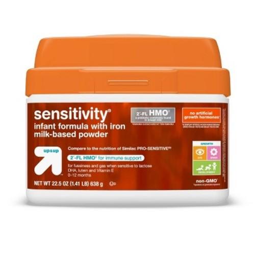 Non GMO Sensitivity Infant Formula (Compare to Similac Sensitive Non-GMO) - 22.5oz - Up&Up
