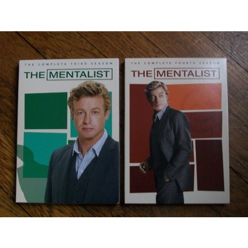 The Mentalist DVD Seasons 3 and 4 Bundle (2012)