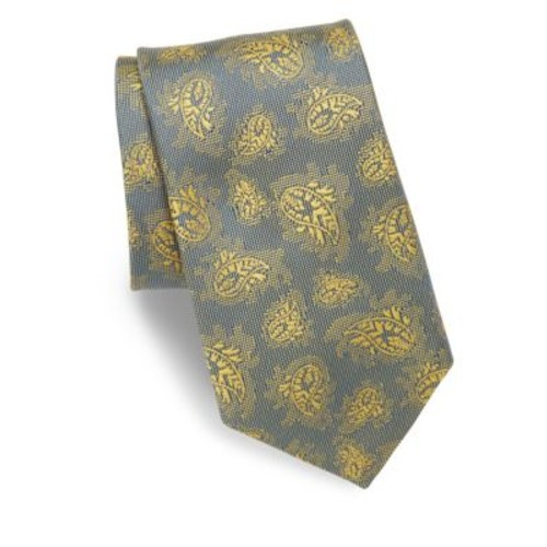 Allover Paisley Silk Tie