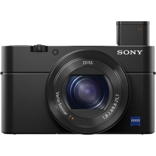 Sony - Cyber-shot RX100 IV 20.1-Megapixel Digital Camera - Black