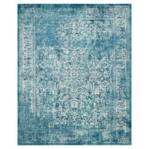 Safavieh Evoke Blue/Ivory 8 ft. x 10 ft. Area Rug