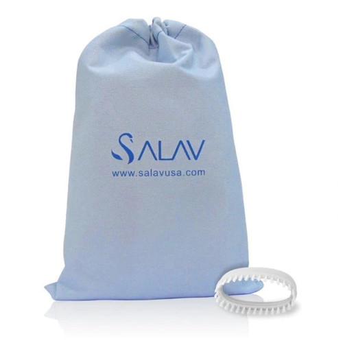 SALAV SA-102 Accessory Pack, 2 Piece set - Brush & Travel Bag for use with TS01 Travel Hand Held Garment Steamer