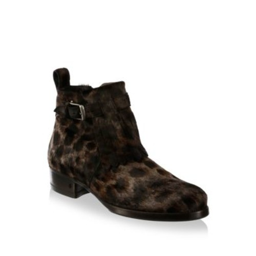 Lafayette Calf Hair Ankle Boots