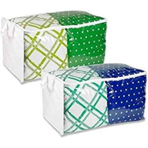 Honey Can Do Set Of 2 Clear Peva Jumbo Storage Bags