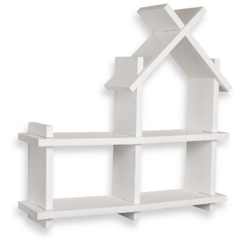 Danya B House Design Wall Shelf - White