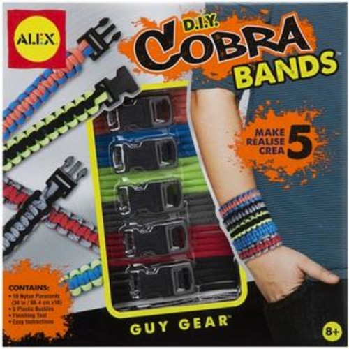 Alex Toys A1600 DIY Cobra Bands Kit-
