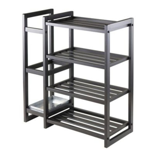 Winsome Isabel 427 Shoe Rack With Umbrella Stand and Tray