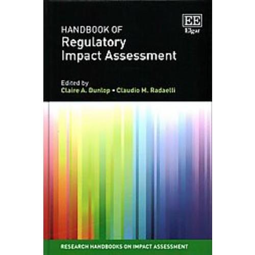 Handbook of Regulatory Impact Assessment (Hardcover)
