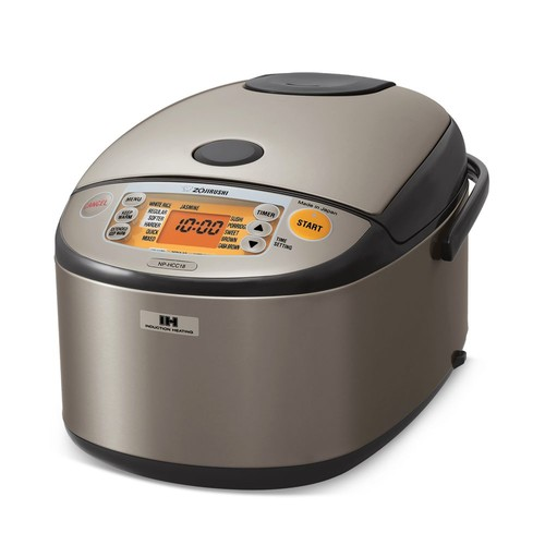 Induction Heating 10-Cup Rice Cooker & Warmer