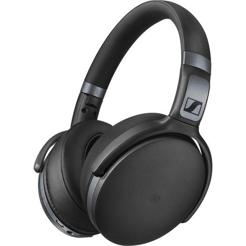 Sennheiser - HD 4.40 Wireless Over-the-Ear Headphones - Black