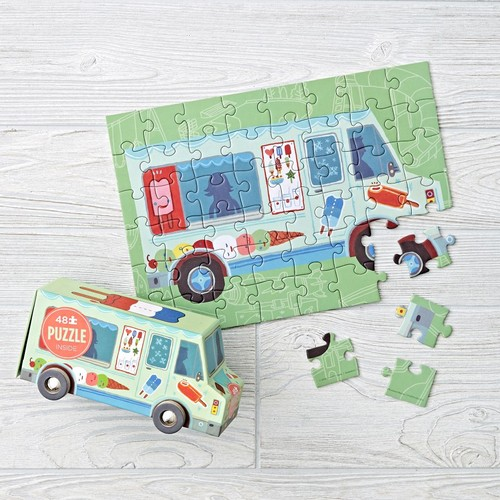 Ice Cream Truck Puzzle (48 pc.)