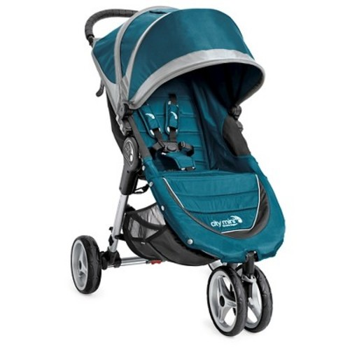 Baby Jogger City Mini Single Stroller in Teal/Grey