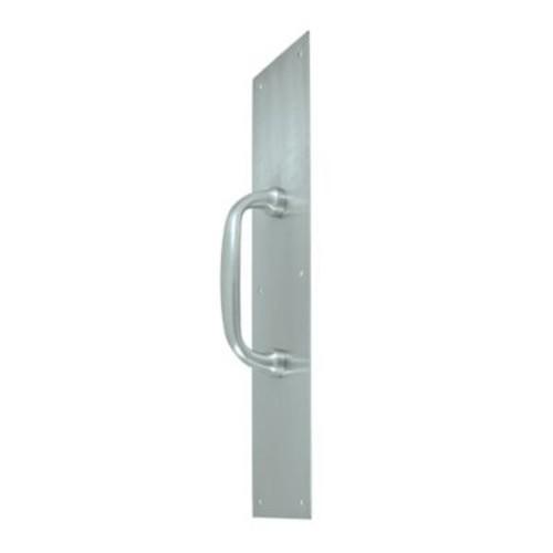 Deltana 5 1/2'' Center Bar Pull; Brushed Chrome