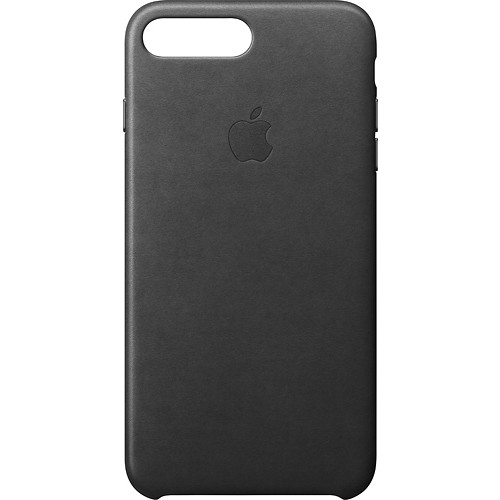 Apple - Leather Case for iPhone 7 Plus - Black