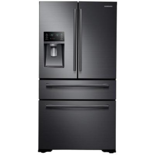 Samsung 29.7 cu. ft. French Door Refrigerator in Black Stainless Steel