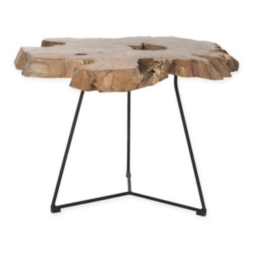 Safavieh Babylon Coffee Table in Natural Wood