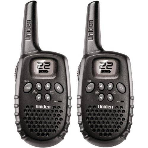 16-Mile Range 2-Way Frs/Gmrs Radios - UNIDEN