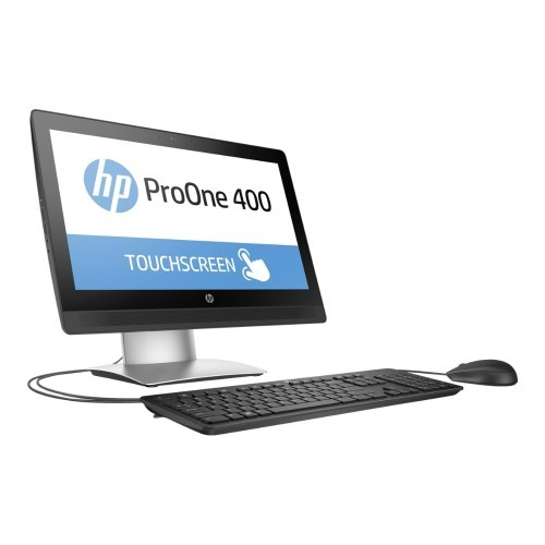 HP Inc. ProOne 400 G2 - All-in-one - 1 x Core i3 6100 / 3.7 GHz - RAM 4 GB - HDD 500 GB - DVD SuperMulti - HD Graphics 530 - GigE - WLAN: Bluetooth 4.0, 802.11a/b/g/n/ac - Win 7 Pro 64-bit (includes Win 10 Pro 64-bit License) - monitor: LED 20