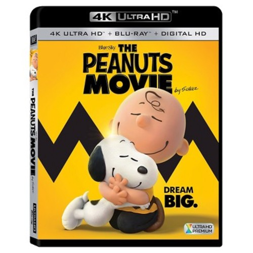 The Peanuts Movie [4K UHD] [Blu-Ray] [Digital HD]