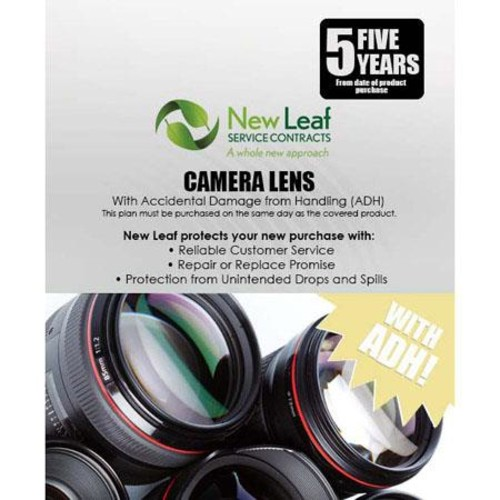 Leaf 5 Year Drops & Spills Extra Protection, Lenses under $10000 LEA5U10K