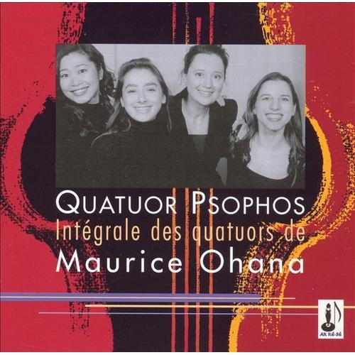 Intgral des Quatuors de Maurice Ohana [CD]