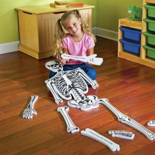 Learning Resources Skeleton Floor Puzzle - 15-piece