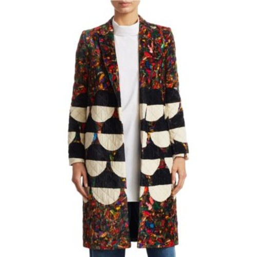 DRIES VAN NOTEN Opera Velvet Coat