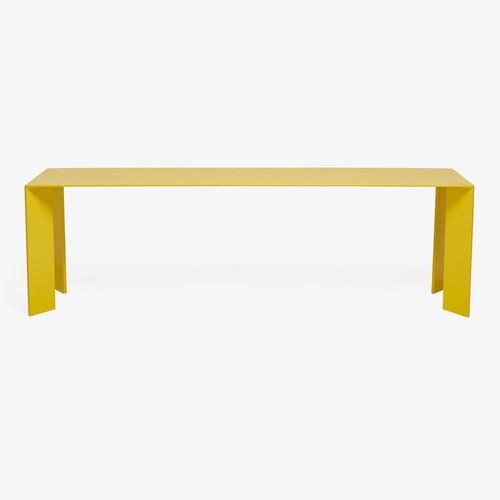 Blunt Steel Bench Yellow