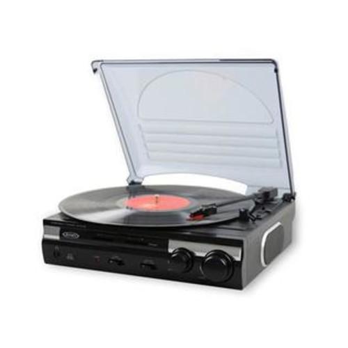 Jensen 3-Speed Stereo Turntable w/ Speakers