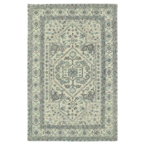 Kaleen Montage Ivory 5 ft. x 7 ft. 9 in. Area Rug