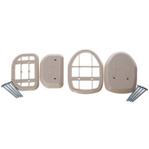 Dreambaby Spacers for Retractable Gate in White