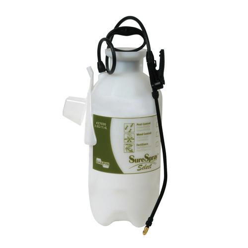 Chapin 27030 3-Gallon SureSpray Select Sprayer For Fertilizer, Herbicides and Pesticides [3 Gallon]