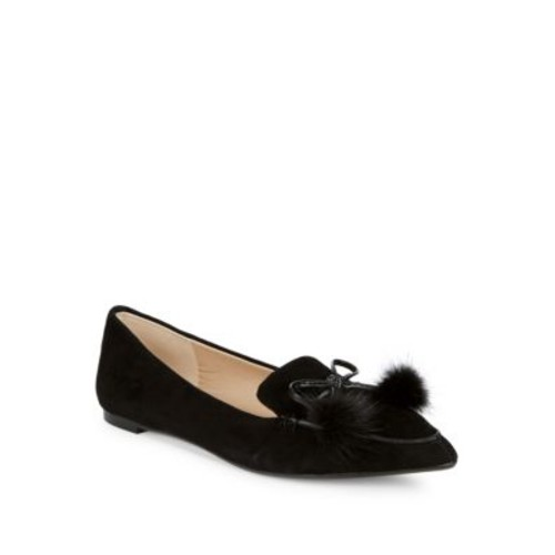 Karl Lagerfeld - Metallic Leather Loafers