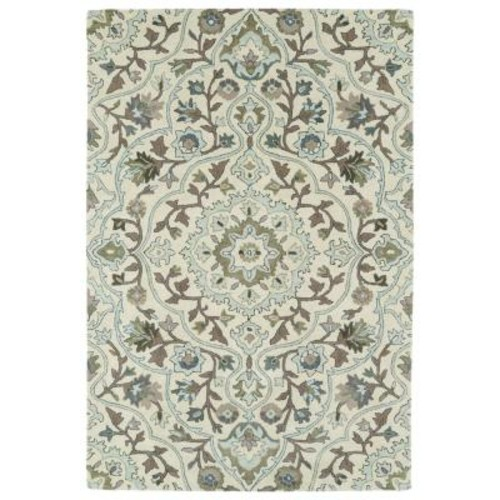 Kaleen Middleton Ivory 9 ft. x 12 ft. Area Rug