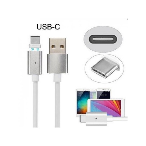 CHENYANG USB-C Type-C to USB Male Magnetic Charging Cable for Cell Phone & Tablet Reversible Design