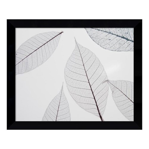 Sheer Leaves I Framed Wall Art
