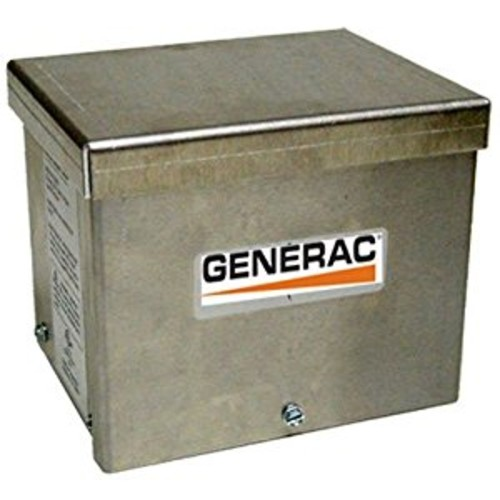 Generac 6343 30-Amp 125/250V Raintight Aluminum Power Inlet Box [Pack of 1]