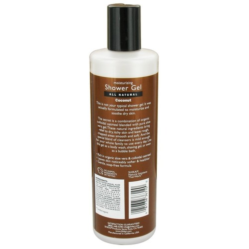Shikai - Moisturizing Shower Gel Coconut - 12 oz.