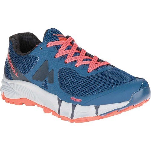 MERRELL Women's Agility Charge Flex Trail Running Shoes, Navy