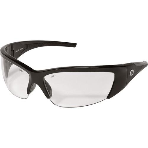 3M TEKK Protection ForceFlex Flexible Safety Glasses  Clear Lens,