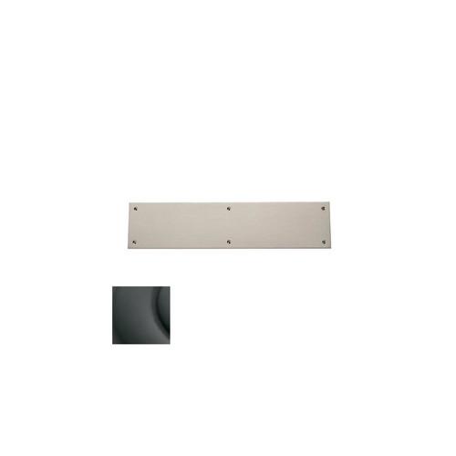 Baldwin 2123102 3.5 x 15 in. Square Edge Push Plate, Oil-Rubbed Bronze